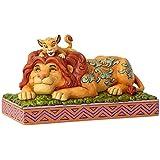 """Disney Traditions, Figura de Simba y Mufasa de """"El Rey León"""", para coleccionar, Enesco"""