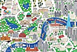 empireposter Malone, Jamie-London Map-Illustration-England