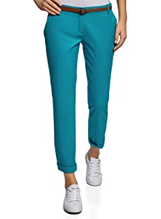 6865fd87032 Pimkie Pantalon carotte taille haute Femme  Amazon.fr  Vêtements et ...