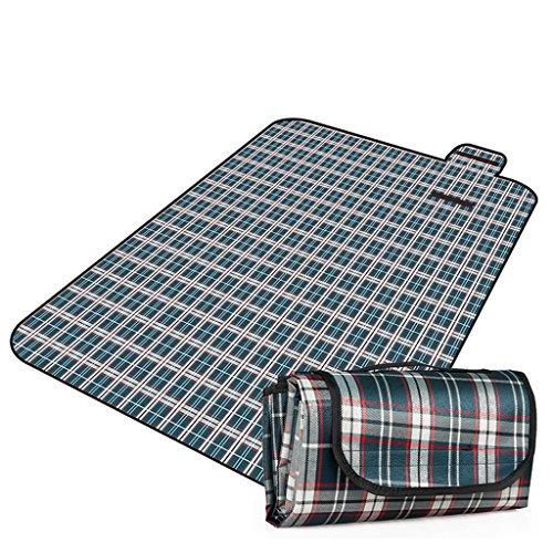 KUN PENG SHOP Mantas de picnic almohadillas de marea espesamiento al aire libre portátil de picnic impermeable alfombras Oxford tejido césped alfombras de playa A+ ( Color : #1 )