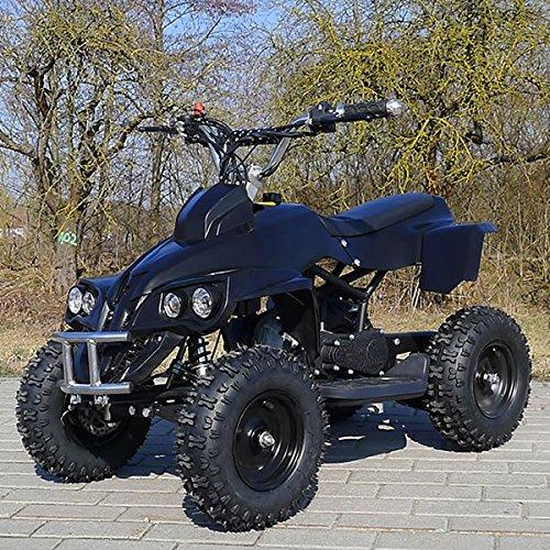 Kinder Miniquad RHINO 49 CC MOTOR 2 Takt ATV Pocket Quad Kinderquad Kinderfahrzeug schwarz