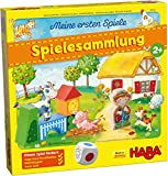 HABA 304223 - Meine ersten Spiele – Spielesammlung, 10 erste Spiele auf dem Ba...