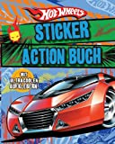 Hotwheels Sticker Action Buch