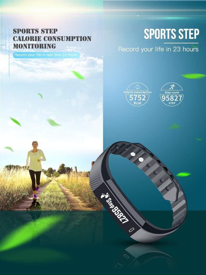 Forme Pulsera de Actividad I Monitor de Actividad Pantalla a Color I Reloj Inteligente I Pulsómetro Presión Sanguínea I… 3