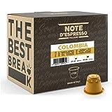 Note d'Espresso - Cápsulas de Café de Colombia - Compatibles con Cafeteras Nespresso - 100 Unidades de 5.6 g