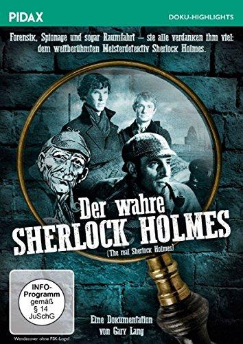 Der wahre Sherlock Holmes (The real Sherlock Holmes) / Spannende und preisgekrönte Dokumentation über den berühmten Meisterdetektiv (Pidax Doku-Highlights)