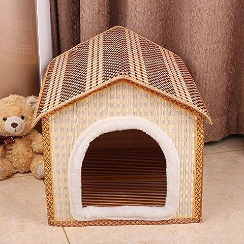 Wo stuoia lavabile per animali resistenti a morsi e sporco per pet cuccia Dog Crate - Portatile Dog Bath