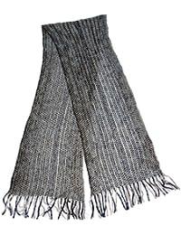 Unisex Adult Autumn Long Multi twist yarn scarf