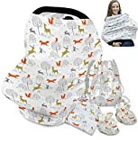 Best Boppy Gifts For Newborns - Woodland Nursing Cover for Breastfeeding Scarf - Infant Review