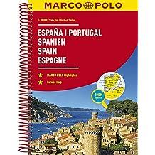 MARCO POLO Reiseatlas Spanien, Portugal 1:300 000 (MARCO POLO Reiseatlanten)