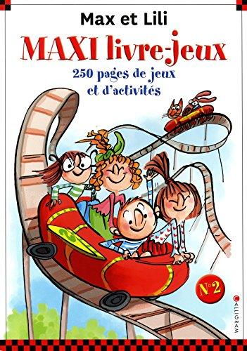 Maxi livre-jeux Max et Lili - numéro 2 (2)
