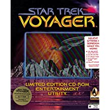 Star Trek, Voyager, 1 CD-ROM Limited Edition Entertainment Utility. Screen savers, 80 audio clips, 40 video clips, 80 images, jigsaw puzzles, and wallpaper. For Windows 3.1x/95