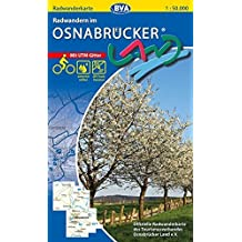 Radwanderkarte BVA Radwandern im Osnabrücker Land 1:50.000, reiß- und wetterfest, GPS-Tracks Download (Radwanderkarte 1:50.000)