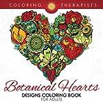 Botanical Hearts Designs Coloring Boo...