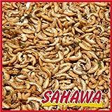 SAHAWA®_ Bachflohkrebse, Gammarus 5000 ml, 5 l Eimer getrocknet für Fische, Schildkröten, Nager, Vögel, Teichfische