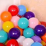 100 Stück 30,5 cm sortierte farbige Luftballons für Geburtstagsparty-Dekoration und Veranstaltungen.