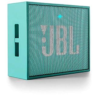 JBL Go Altavoz Bluetooth Recargable portátil con Entrada AUX, Compatible con Smartphones, tabletas y Dispositivos MP3, Color Cerceta (B00TFGXL38) | Amazon Products