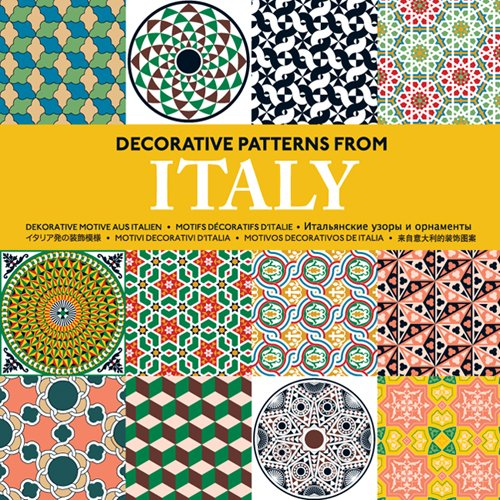 Decorative patterns from Italy : Motifs décoratifs d'Italie (1Cédérom)