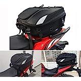 JFG RACING Motorcykel tailbag– vattentät bagageväska sittväska motorcykel sadelväskor