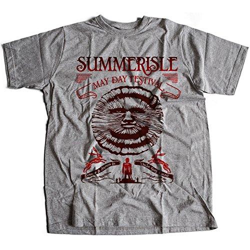 Flamentina 9364g Summerisle Festival Herren T-Shirt The Wicker Man Green Man Inn Lord Burning - Wicker Man-shirt