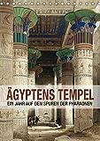 Ägyptens Tempel (Tischkalender 2018 DIN A5 hoch): Ein Jahr auf den Spuren der Pharaonen (Geburtstagskalender, 14 Seiten ) (CALVENDO Orte) [Kalender] ... Layout: Babette Reek, Bilder: