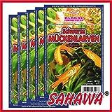 SAHAWA® Frostfutter 5x100g Blister schwarze Mückenlarven ,verpackt mit Trockeneis, Zierfischfutter, Süßwasser, Discus, Barsche, Guppys, Rote Mückenlarven (Schwarze Mückenlarven)