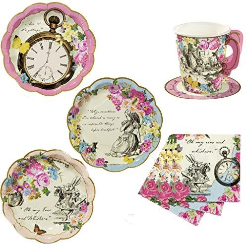 Party-Set für 12, Alice In Wonderland (Mad Hatter Tea Cup)