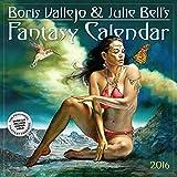 Boris Vallejo & Julie Bell's Fantasy Wall Calendar 2016 (2016 Calendar)