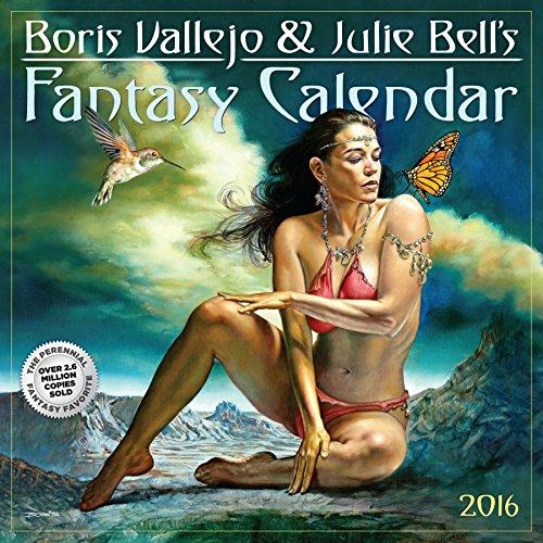 Boris Vallejo & Julie Bell's Fantasy (2016 Calendar)