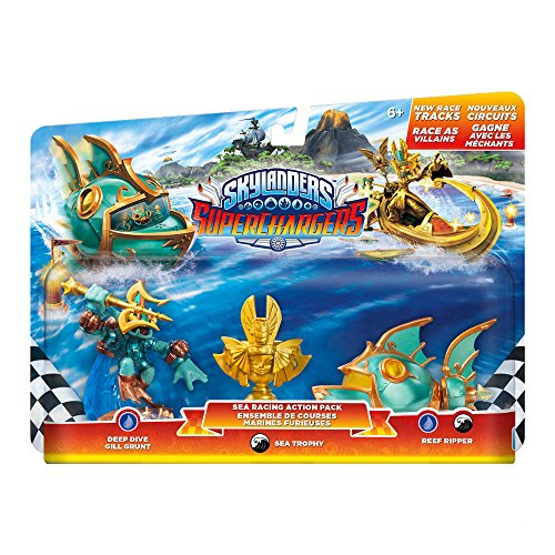 Skylanders Superchargers Racing Pack (Deep Dive Gill Grunt, Reef Ripper, Villain Sea Trophy)