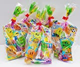 20 x Children's unisex pre filled ready made party bags with favours and sweets for boys and girls