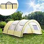 TecTake 800588 XXL Camping Tunnel Tent with Foyer 4-6 persons 12