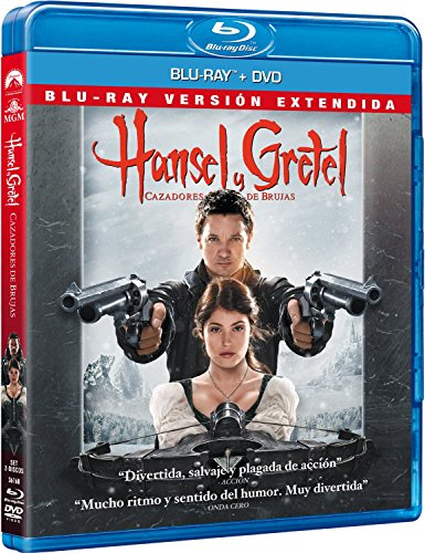 Hansel & Gretel – Versión Extendida (DVD + BD) [Blu-ray] 61ukaha1zyL