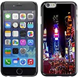 Graphic4You New York City Times Square Diseño Carcasa Funda Rigida para Apple iPhone 7 Plus