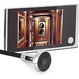 Digitaal kijkgaatje, kijkgaatje camera, kijkgaatje kijker 3,5-inch LCD-scherm + 120 ° kijkhoek + 24 uur bewaking, elektronisc
