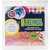 Gel Press Monoprint Druckplatte Quadratisch zum Erstellen von einzigartigen Druckgrafiken
