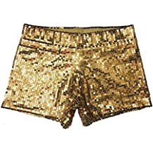 69a05e723fb5 Babyicon Damen Sequins Shorts Hot Hosen Tanz Hip Hop Jazz Sänger Nachtclub