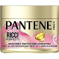 Pantene Pro-V Maschera Capelli Protezione Cheratina Ricci Perfetti, Fino a 72H Ricci Definiti, 300ml