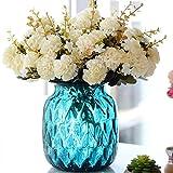 LQZ Kunstblumenstrauß Chrysanthemen Kunstblumen Künstliche Blume Chrysantheme künstlich