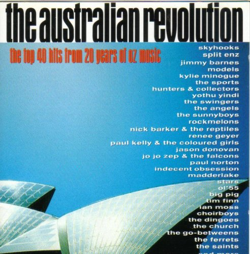 The Australian Revolution - The Top 40 Hits from 20 Years of OZ Music [Doppel-CD]