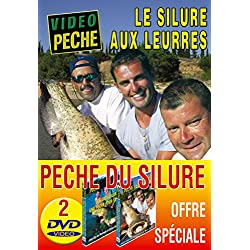 Lot 2 DVD Vidéo Pêche du Silure - Carnassier