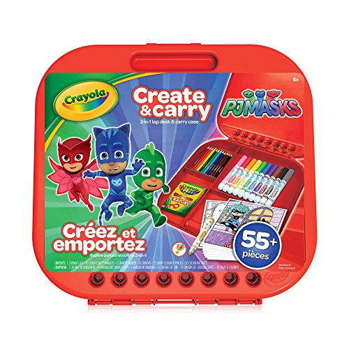 Crayola- PJ Masks Kit de coloriage, 04-0320-F-000, Multicolore