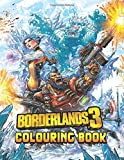 Borderlands Colouring Book: Ultimate Colour Wonder Borderlands Coloring Book, Wonderful Gift for Kids And Adults