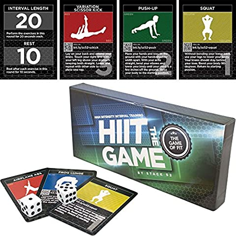 The HIIT Interval Workout Game by Stack 52. Designed by