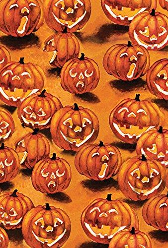 Toland Home Garten-Laternen im Dunkeln 71,1 x 101,6 cm Deko Halloween Kürbis Haus Flagge (Halloween-party Trick Behandeln Oder)