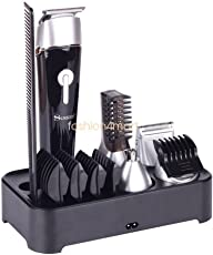 Surker 5 in 1 Waterproof Rechargeable Cordless Hair Clipper Grooming Kit for Men