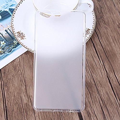 Easbuy Handy Hülle Soft Silikon Case Etui Tasche für Leagoo T5 Smartphone Cover Handytasche Handyhülle Schutzhülle