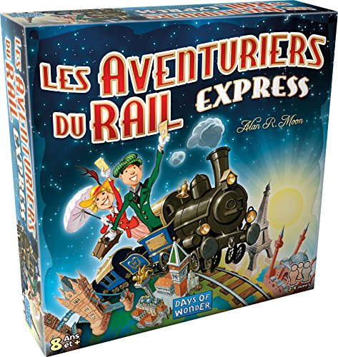 Asmodee-Les Aventuriers du Rail Express, AVE22, Multicolore