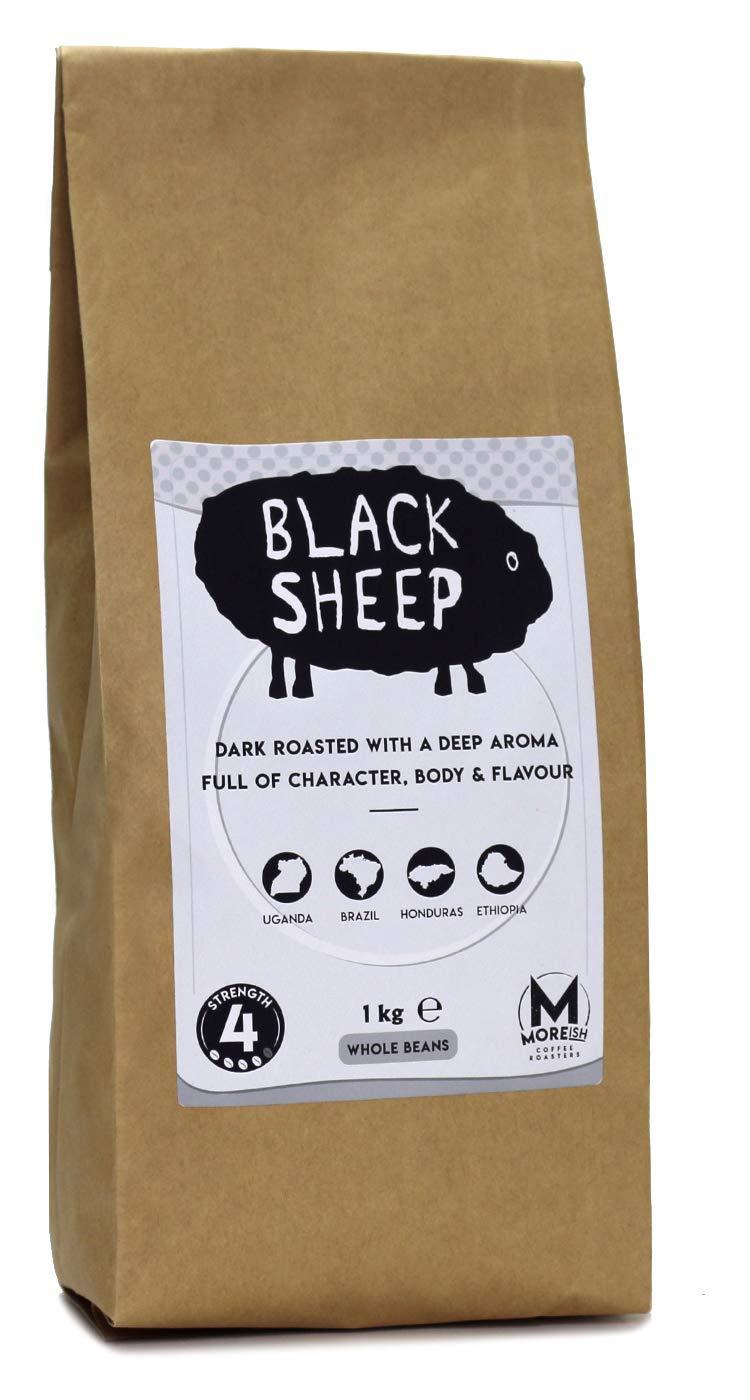 Moreish Black Sheep – Dark Roast Ground Coffee (Filter Grind) – 1kg