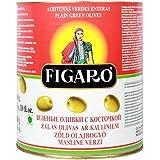 Figaro Plain Green Whole Olives, 3 Kg [Horeca Pack]